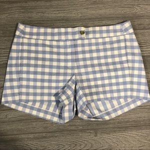 J. Crew • Stretch Chinos in Big Blue Gingham